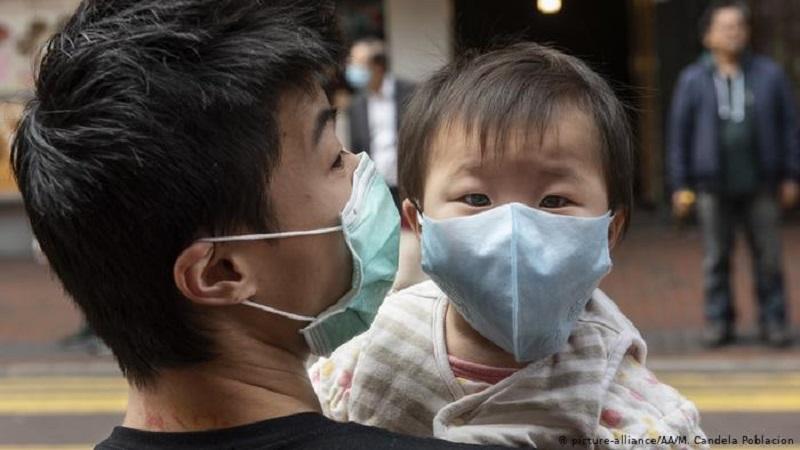 بچه های با کرونا ویروس